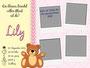 """Zur Geburt """"Teddy - Mädchen"""""""