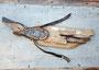 Duikende vogel 123x60cm