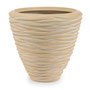 Polystone Planter nature Braun Plants first choice