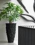 Fago Vase schwarz Planters for Life