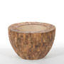 Cemani Wood Bowl Planters for Life