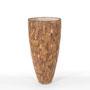 Cemani wood Vase PFL