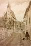 Alt Wien (Grinzing), 12 x 18 cm
