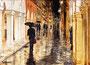 Regen am Abend, 23 x 30 cm