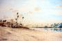 """""""Am Nil"""", 22 x 32 cm"""