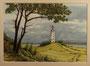 Leuchtturm, 18 x 24 cm