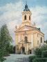 Kirche in Wien/Rodaun, 23 x 30 cm