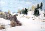 Winter, 23 x 30 cm