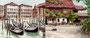 Venedig und Klopeiner See, 2 Miniaturen, ca 5,5 x 6,5 cm