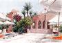 """""""Randevouz-Bar"""" im Hotel Makadi Palace (Hurghada/Ägypten), 18 x 25 cm"""