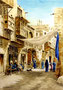 """Alte Gasse in Kairo"", 27 x 36 cm"