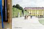 """Panorama, """"Schloß Schönbrunn/Wien"""", Detail"""