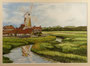 Windmühle, 18 x 24 cm