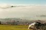 Niebla en la Hoya de Huesca