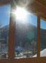 Fensterausblick Jakobshorn