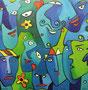 Faces 2007, Acryl   •   CHF 2 900.--