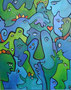Faces 2010, 80 x 100 cm, Acryl   •   CHF 3 000.--