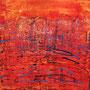 Salento 3, 80 x 80 cm, Acryl
