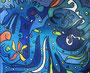 Octopus, 120 x 100 cm, Acryl   •   CHF 3 900.--