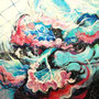 《Life-10》2010 S80(145.5×145.5cm) 油彩、綿布、パネル