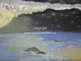 Zee - acrylverf op canvas - 30x24cm - jan.2012 - te koop 35 euro