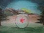 Glazen bol - acrylverf op canvas - 40x30cm - 2005? - niet te koop