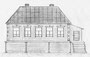 Дом Бугрова Василия Агаповича. Расположен в центре, где дом Курникова