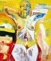 Annemarie, Acryl auf Leinen, 50 x 60cm, 2003