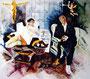 Herta und Gernot Fuckerieder, Acryl auf Leinen, 110 x 120cm, 1994