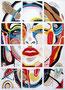 Madonna, Mischtechnik auf Holz, 110 x 155cm, 1997