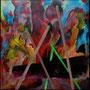 Le chant des sirènes (2004, 100X100)