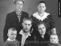 Брат бабушки Мельников Николай Иванович с семьей, 1963 г.
