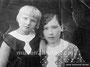 Кабаненкова Екатерина Петровна с дочерью Зинаидой Викторовной (в девичестве тоже Кабаненкова)