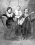 Попова Люба, Борзуновы Николай и Александра Васильевичи. 1914 г.
