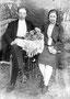 Борзунов Николай Васильевич с первой женой Анастасией Ивановной (в девичестве Позднякова). 1930-е гг.