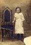 Бабушка Попова Александра Ивановна (1909-1995). Снята в 1917 г.