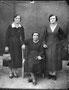 Сестры Мясниковы: Вера (в замуж. Сюсина), Любовь (в замуж. Борзунова), Мария (в замуж. Неугасимова) Ивановны. 1938 г.