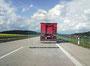 auf der Autobahn A71 in Richtung Meiningen