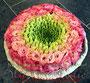 Ringkissen aus Frischblumen