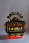 light sculpture radio box hand assemblage