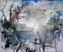 FROISSÉ  I  89 X 116 cm   I   acrylique sur toile   I   2014
