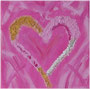 Heart in Pink, 20x20 cm