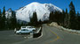Mount Rainier National Park Straße nach Sunrise