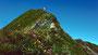 Zum Gipfelkreuz der Höferspitze unterwegs