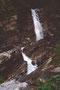Wasserfälle des Sennauer Bachs neben dem Aufstiegsweg zum Toblermannskopf nahe der B regenzerwaldstraße