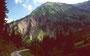 Die zerfurchten Steilflanken des Hochbergs vom Abstiegsweg Schadonapass - Bregenzerwaldstraße