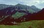 Schröcken - Ausgangspunkt meiner Tour auf die Mohnenfluh mit 1300 Höhenmeter
