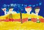 「楽しい運動会(綱引き)」 ムン・ユギ 東大阪朝鮮初級学校