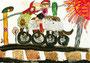 「ライオン型バイク」 ユ・ヨンサ 神戸朝鮮初中級学校