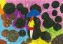 「雨降る通学路」 リ・キョンア 愛知朝鮮第七初級学校